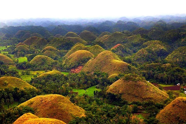 The hills of chocolate - Philippines