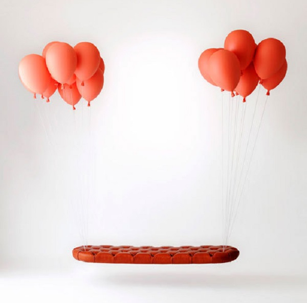 Le Ballon Rouge Bench