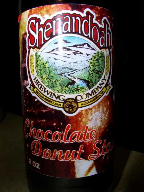 Shenandoah brewery chocolate and donut beer