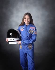 Come to meet this little girl before she departs to Mars