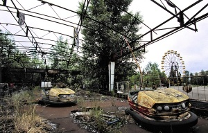 An aerial video of Pripyat captured by a drone | Chernobyl