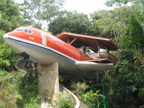 Modes of Transport Converted Into Hotel Accommodations
