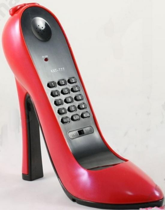 Shoe Telephone