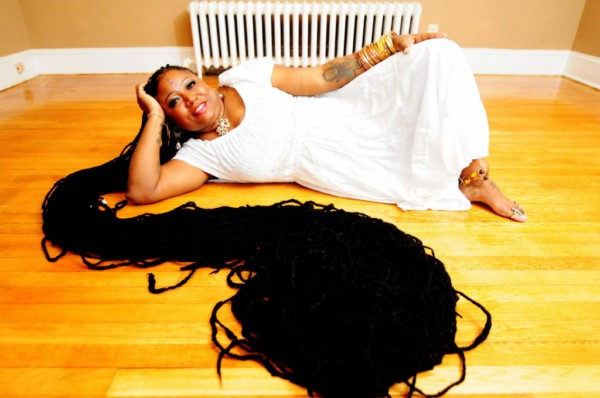 The woman with the longest hair in the world