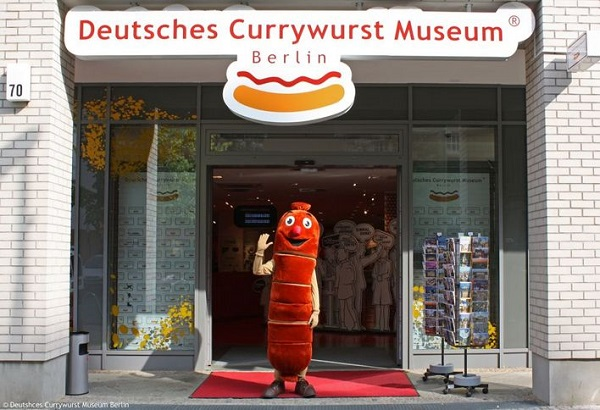 Welcome to the Currywurst museum