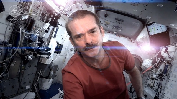 Chris Hadfield sharing his world with us