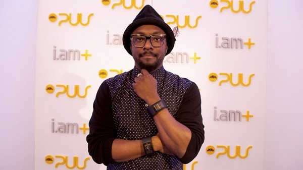Will. i. am with his twin puls