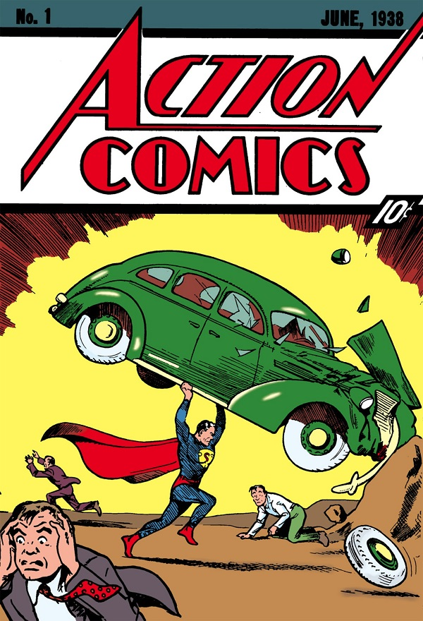 When life smiles at you and you can read the most expensive Superman comic for free